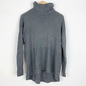 Lou & Grey | Gray Long Sleeve Sweater | M